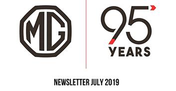 Todas las novedades de MG en Julio de 2019